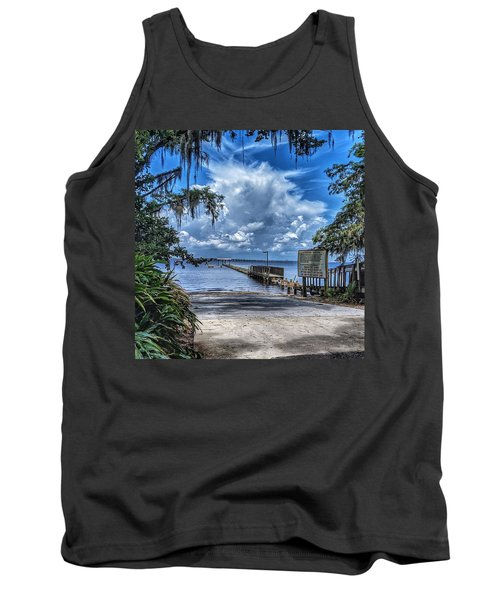 Strolling By The Dock Tank Top