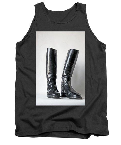 Studio. Riding Boots. Tank Top