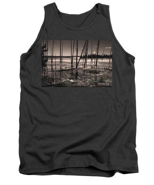 Tank Top featuring the photograph Sulfur Field by Mae Wertz