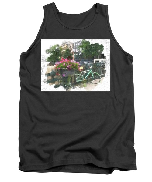 Summer In Amsterdam Tank Top