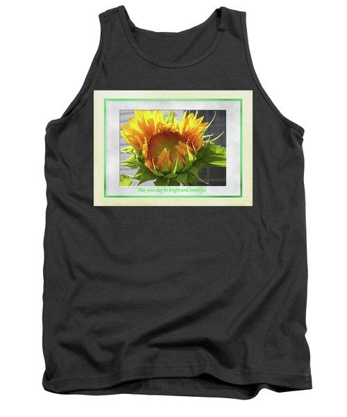 Sunflower Birthday Tank Top