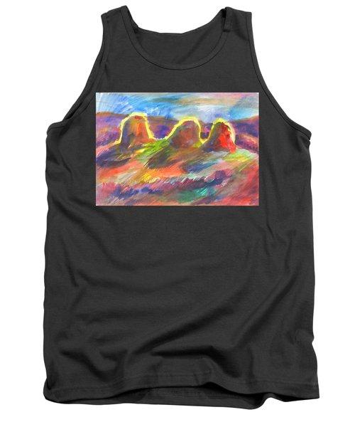 Sunny Haystacks Tank Top