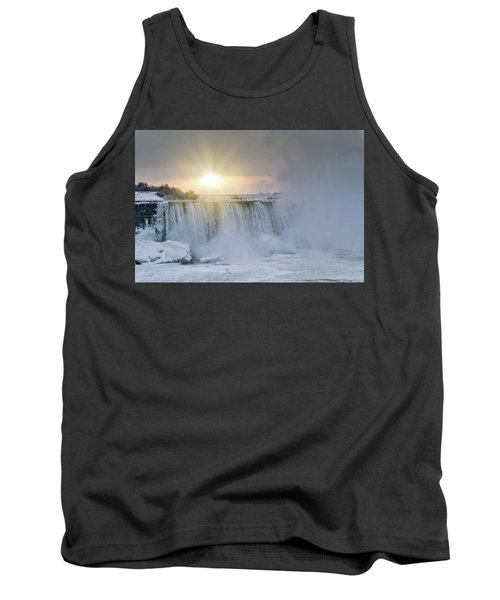 Sunrise In Niagara Falls Tank Top