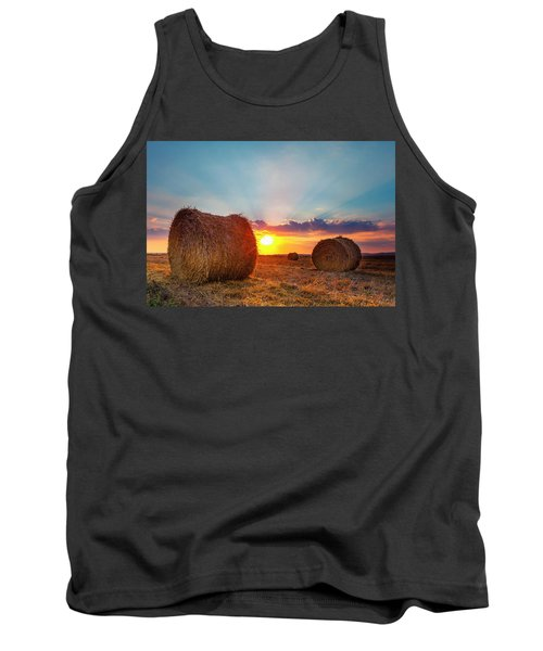 Sunset Bales Tank Top