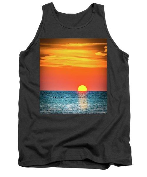 Sunset Captiva  Tank Top