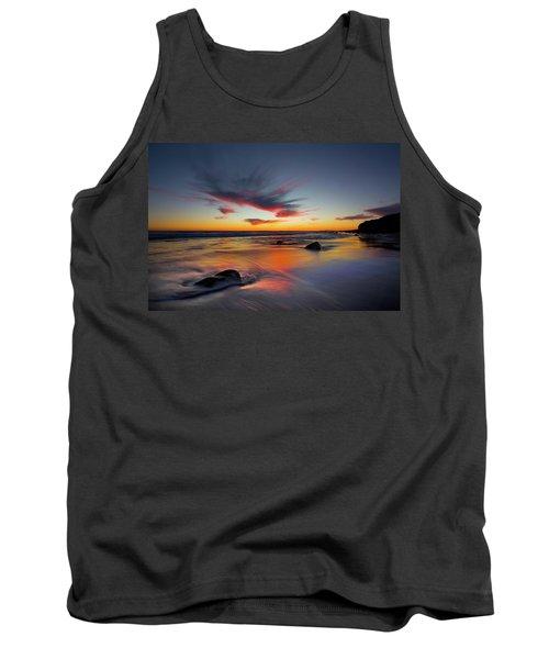 Sunset In Malibu Tank Top