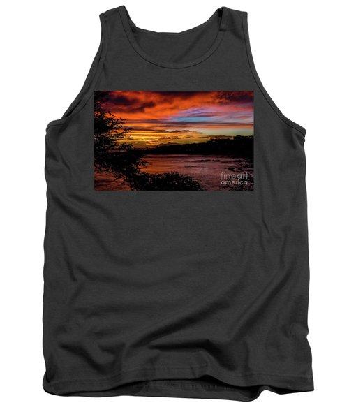Sunset In Praia, Cape Verde Tank Top