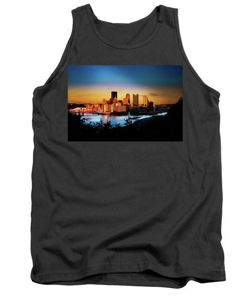 Sunset In The City Tank Top