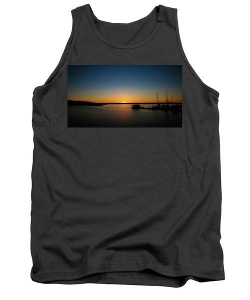 Sunset Over The Potomac Tank Top