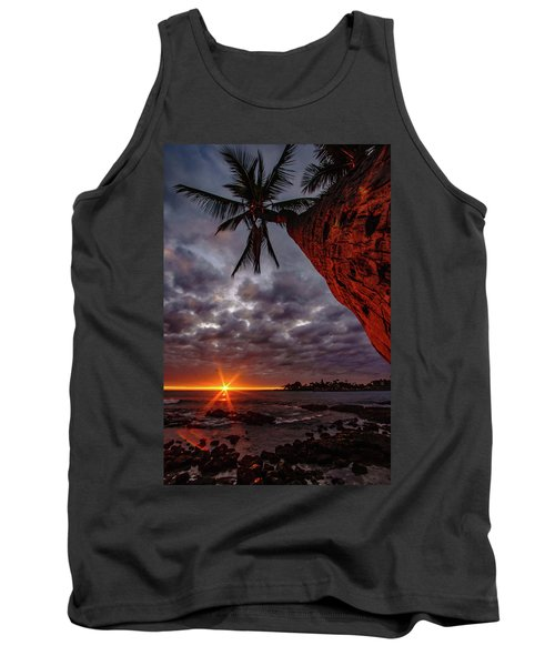 Sunset Palm Tank Top