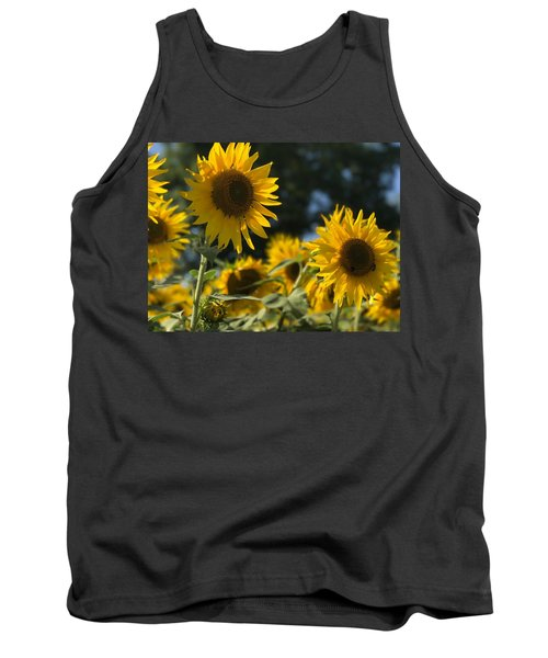 Sweet Sunflowers Tank Top
