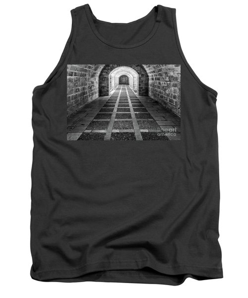 Symmetry In Black And White Tank Top