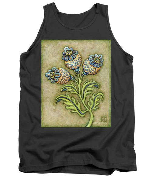 Tapestry Flower 6 Tank Top
