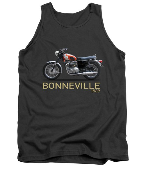 The 1969 Triumph Bonneville Tank Top