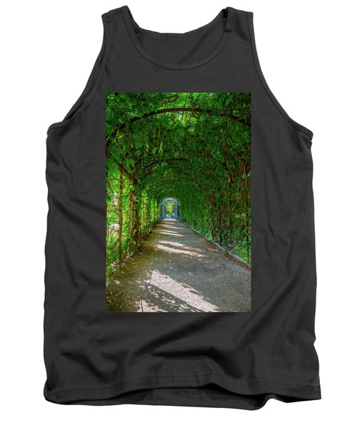 The Alley Of The Ivy Tank Top