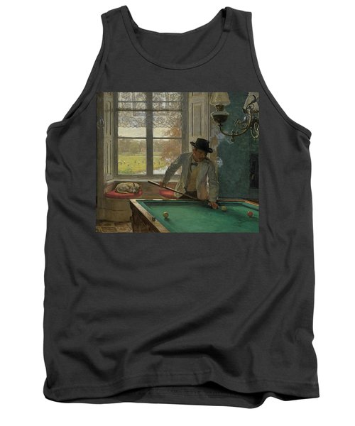 The Billiards Player Tank Top