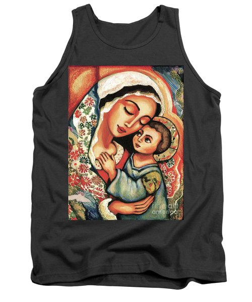 The Blessed Mother Tank Top