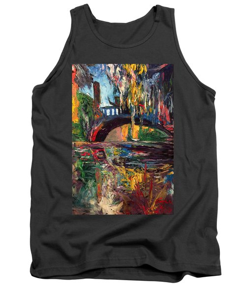 The Bridge At City Park New Orleans Tank Top