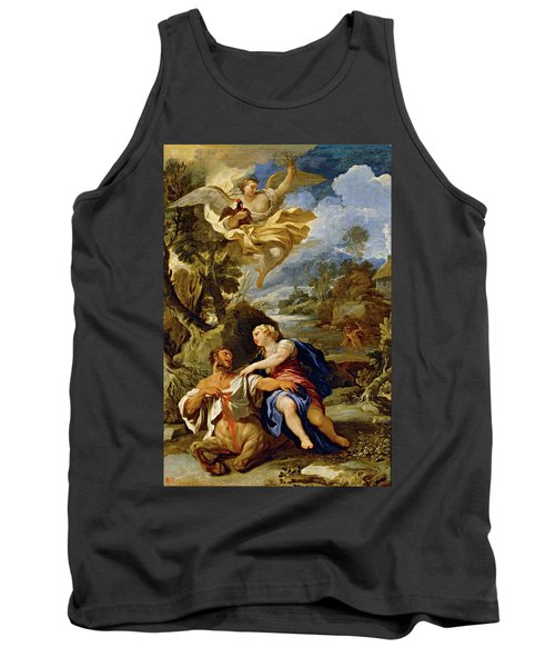 'the Death Of Centaur Nessus', Ca. 1697, Italian School, Oil On Canvas, 114 Cm X... Tank Top