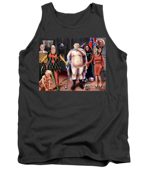 The Emperor And His Crazy House Tank Top