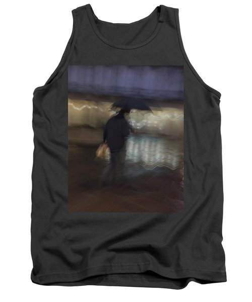 Tank Top featuring the photograph The End Of A Long Day by Alex Lapidus