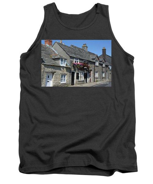 The Fox Inn At Corfe Castle Tank Top