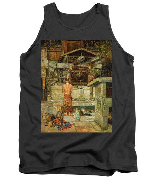 The Holy Cleansing Of The Samurai Tank Top