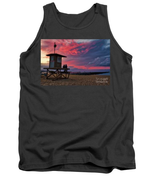 The Last Sunrise Of 2018 At The Wedge Tank Top
