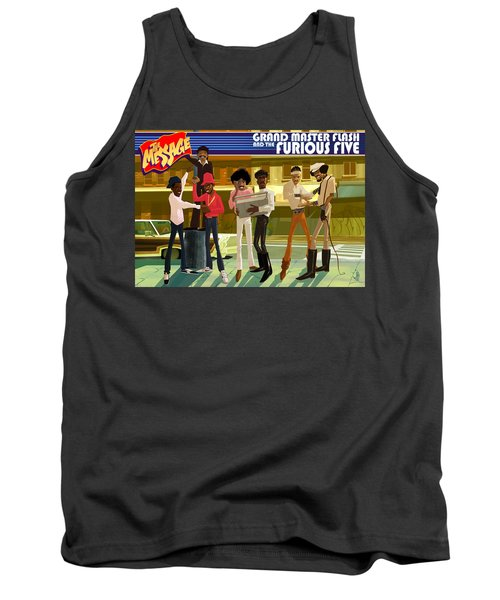 The Message Tank Top