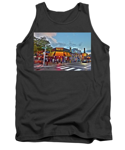 The Middle East In Cambridge Central Square Dusk Tank Top