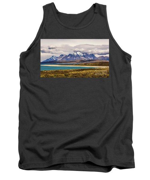 The Mountains Of Torres Del Paine National Park, Chile Tank Top