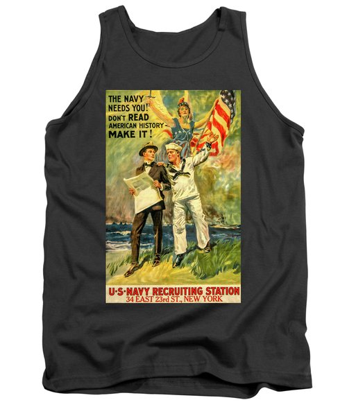 The Navy Needs You Tank Top