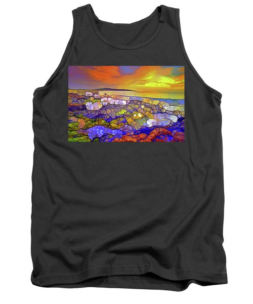 The Ocean Moves Inside Of Us Tank Top