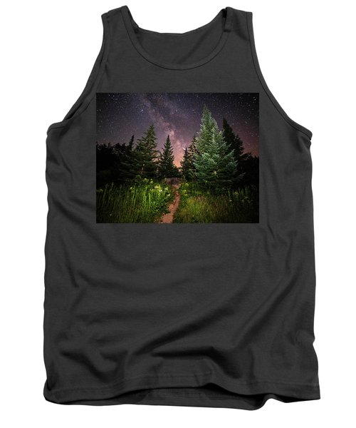 The Path To The Milky Way In Albany New Hampshire Tank Top