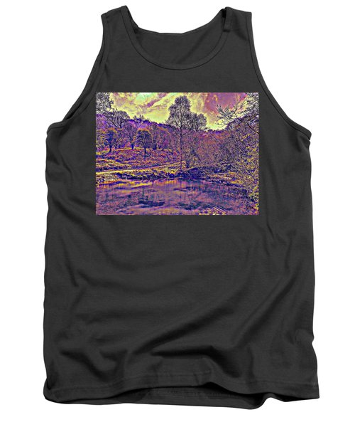 The  Pond  At  Twilight Tank Top