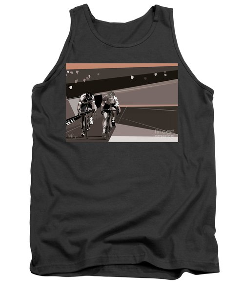 The Race Is On Tank Top