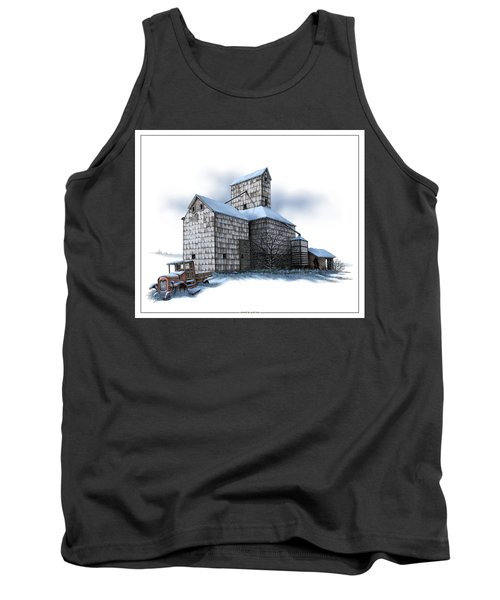 The Ross Elevator Winter Tank Top