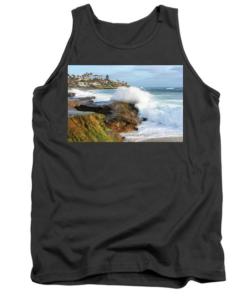The Sea Was Angry That Day My Friends Tank Top