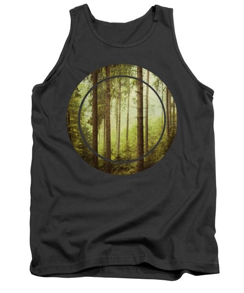 The Small And The Tall - Fir Forest Tank Top