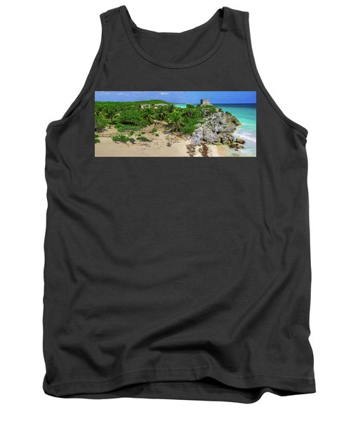 The Temple By The Sea Tank Top
