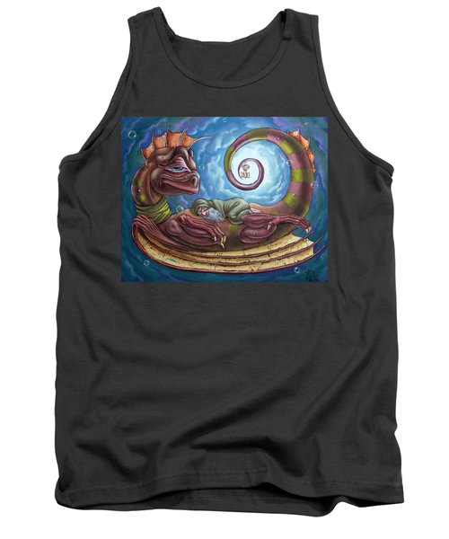 The Third Dream Of A Celestial Dragon Tank Top