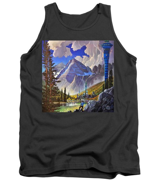 The Three Towers Tank Top