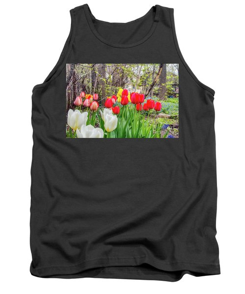 The Tulips Are Out. Tank Top