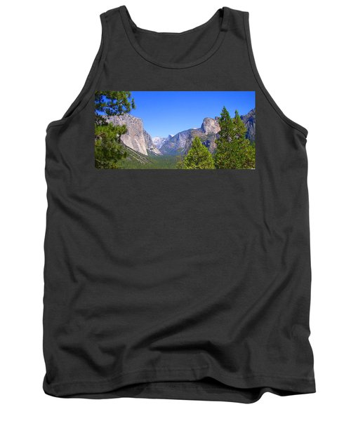 The Valley Of Inspiration-yosemite Tank Top