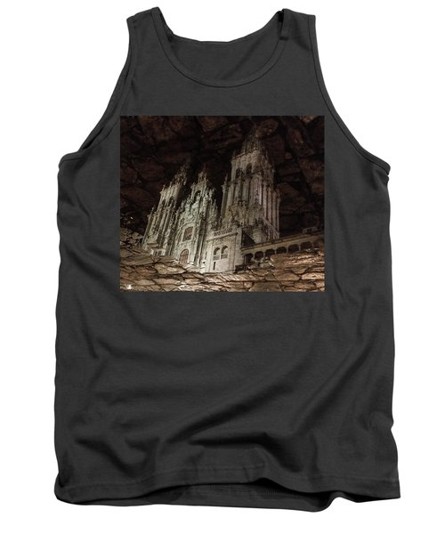 Tank Top featuring the photograph The World At Your Feet by Alex Lapidus