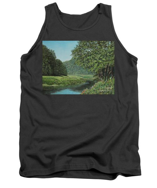 The Wye River Of Wales Tank Top