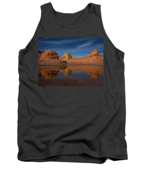 Tank Top featuring the photograph Three Pillars by Edgars Erglis