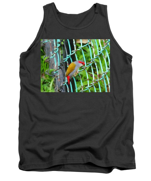 Through The Fence Tank Top