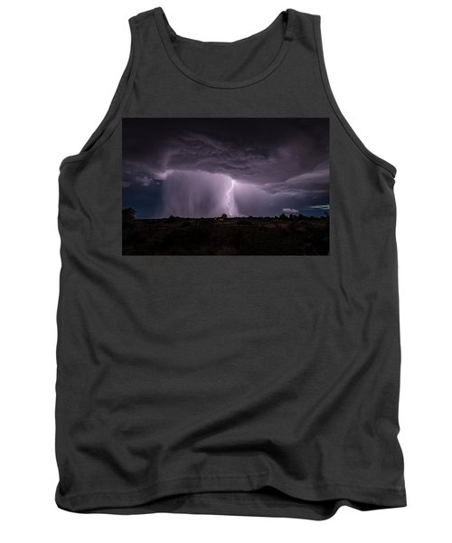 Thunderstorm #4 Tank Top