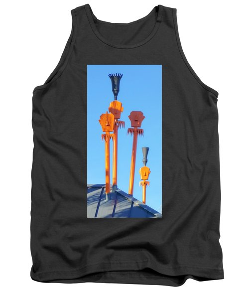 Tiki Palm Springs Tank Top
